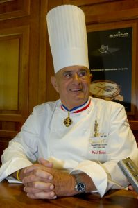 French chef, Paul Bocuse, considered one of the finest cooks of the 20th century © Blancpain