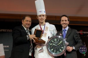 Blancpain rewards Geir SKEIE, Winner of the Bocuse d'Or 2009 © Blancpain