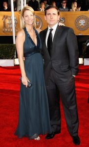 Steve Carell and wife at the 15th Annual Screen Actors Guild Awards © Piaget