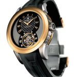PERRELET Automatic Tourbillon in Titanium / Rose Gold Limited Edition of 20 Pieces
