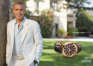 GEORGE CLOONEY'S CHOICE © Omega