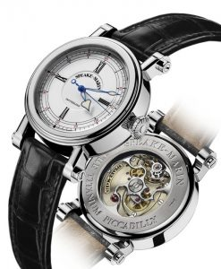 The MARIN-1 is the first Speake-Marin model to integrate the SM2 caliber.