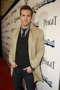Ryan Reynolds wearing Piaget