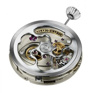 The new Speake-Marin in-house movement SM2