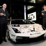 BLANCPAIN at The Motor Show, Marc A. Hayek unveils the Super Trofeo Chronograph