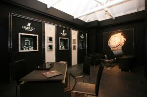 The new Hublot boutique on Mauritius