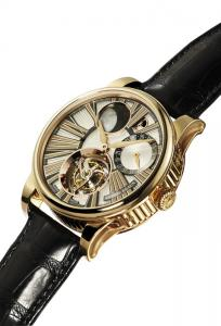 Martin Braun Hyperion, tourbillon, retrograde moon phase