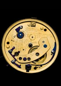 Lincoln's English gold watch was purchased in the 1850s from George Chatterton, a Springfield, Illinois, jeweler. Lincoln was not outwardly vain, but the fine gold watch was a conspicuous symbol of his success as a prominent Illinois lawyer.   The National Museum of American History acquired the watch in 1958 as a gift from Lincoln Isham, Abraham Lincoln great-grandson.      ©  Photo courtesy of the National Museum of American History.