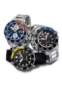 IWC Aquatimer watch family 2009