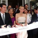 Diane Kruger in Cannes for the inauguration of the new Jaeger-LeCoultre Boutique