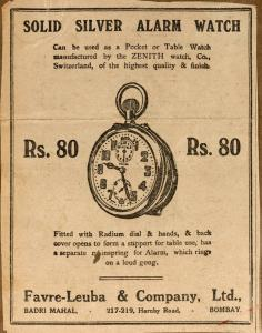 The ZENITH watch of Gandhi