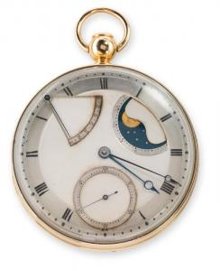<b>Breguet No. 5</b> Quarter-repeating, self-winding watch. 1789-94. Sold to Count Journiac Saint-Méard in March 1794. Collection Montres Breguet S.A.