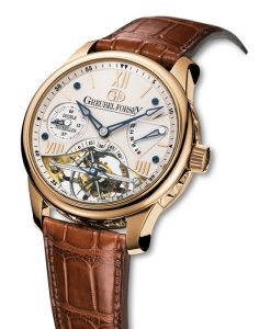 Greubel Forsey DT30° Vision Red gold case Silvered-gold dial