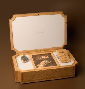 The presentation box of the Marie-Antoinette Grande Complication pocket-watch ~ N°1160