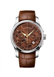 Léon Hatot Men's Chronograph - brown