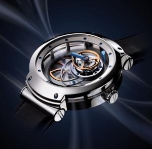 "BLU MT3, winner of ""The Most Revered Watch 2007 in terms of design and technological innovation"""