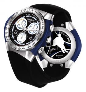 Steven Stamkos Tissot T-Tracs Limited Edition watch (999 pieces) © Tissot