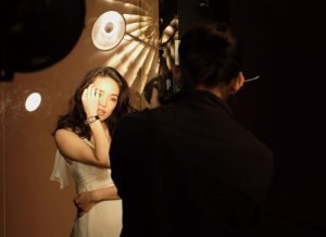 Tha making of the Shu Qi ad