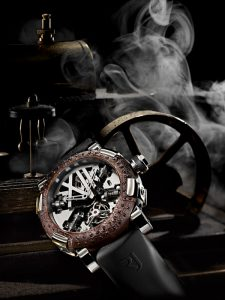 ROMAIN JEROME - Tourbillon Steampunk A la Grande