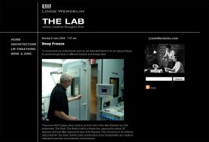 The Lab, newly launched blog of Linde Wenderlin