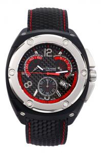 """Red Racing"" chronograph from the Haussman Magum range"