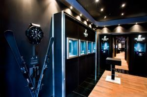 The new Hublot store in Prague