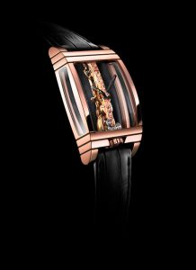 CORUM Golden Bridge Red Gold