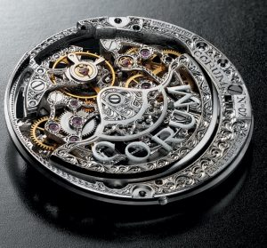 CORUM Romvlvs Perpetual Calendar Movement