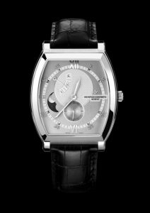 Vacheron Constantin Malte Moon Phase and Power Reserve, white gold