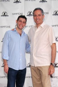 Zachary Udell (London Jewelers) and Scott Rosen (TW Steel/Tempus Group Corporation)