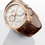 Pink Gold EBEL Classic Hexagon: Day, Retrograde Date and Power Reserve model
