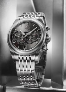 Omega De Ville 4-counters Co-Axial for gents