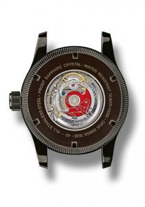 The back of the Oris Swiss Hunter Team Limited Edition