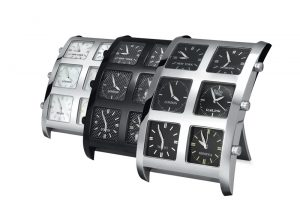 IceLink 6Timezone Alarm Clocks