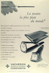 Vacheron Constantin Ad from 1955