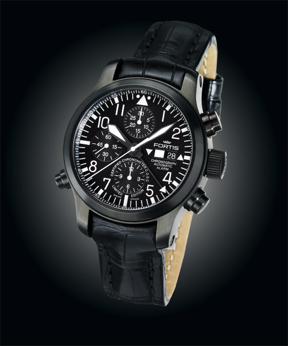 FORTIS B 42 Flieger Black Collection WatchPaper