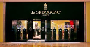 de GRISOGONO boutique in Las Vegas at Crystals
