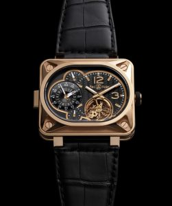 BR Minuteur TOUrBILLON pink Gold (close-up)