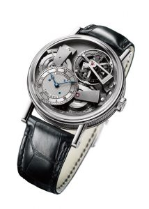 BREGUET Tradition Fusee Tourbillon With Silicon Balance Spring (REF. 7047PT/11/9ZU)