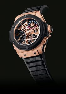 HUBLOT Gold King Power Tourbillon GMT