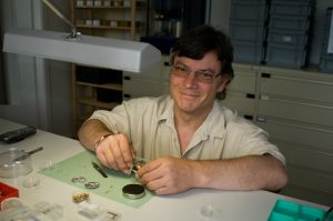 Jean-Claude Sozzani, watchmaker and head of the technical department