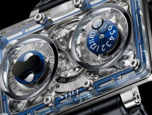 MB&F Horological Machine No2-SV Face