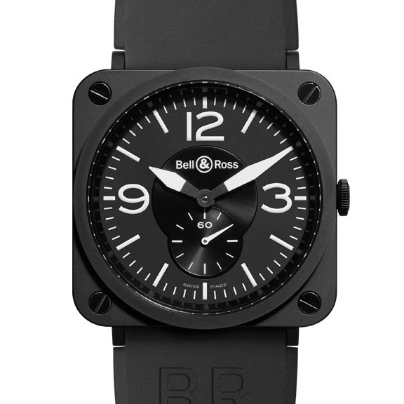 Bell & Ross BR-S Mat Black Ceramic