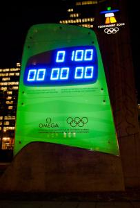 100 days to go till the opening ceremony of the Vancouver 2010 Olympic Winter Games