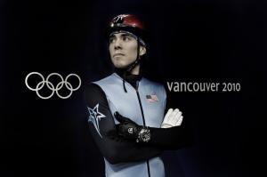 Apolo Anton Ohno and Omega at the 2010 Vancouver Olympic Games