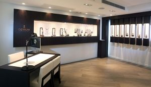 The Corum Boutique in Hong Kong