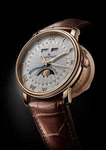 "BLANCPAIN Introduces a ""Re-imagined"" Villeret Moon Phase"