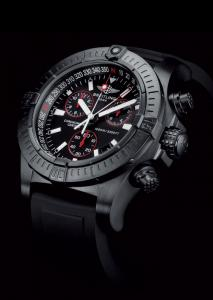 BREITLING Avenger Seawolf Chrono Blacksteel