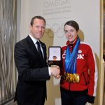 OMEGA honours Paralympic superstar Lauren Woolstencroft