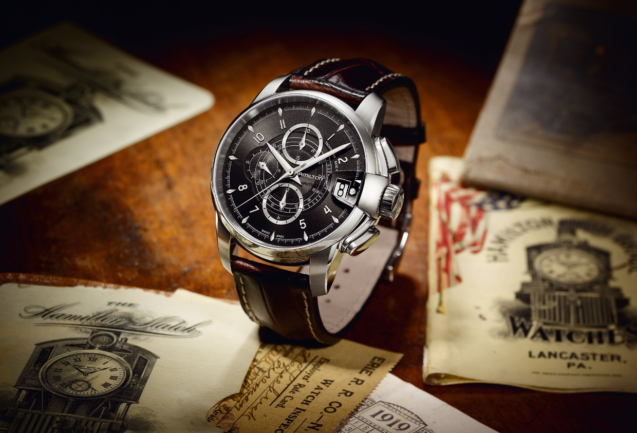 PR Shot of the Hamilton Railroad Chronograph